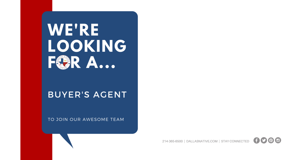Now Hiring - Buyers Agent